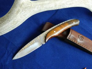 J & V Adventure Knives - Gazapo Mini, small game & bird knife