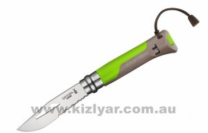 Opinel Outdoor Knife No 8 (Green)