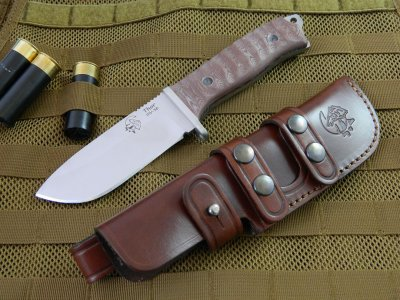 J & V Adventure Knives - Thor, heavy duty field utility knife