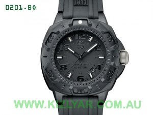 LUMINOX - A0201.BO Blackout, Sentry 0200 Series