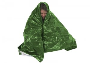 Ndur Emergency Survival Blanket Olive/Silver ND61420