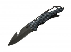 Baladeo Security Knife Emergency - Carbon Fiber