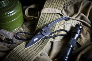 Ground Zero - Fluke EDC / Survival kit knife
