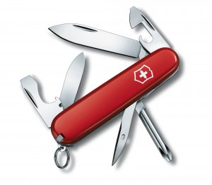 Victorinox Tinker Small, Pocket knife, Red