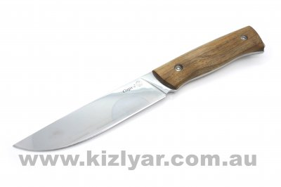 Kizlyar Sterkh-2 Polished Blade Wooden Handle