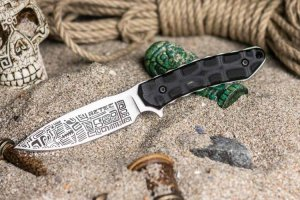 Kizlyar Supreme - Aztec, D2, G10 handle