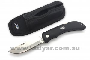 EKA Swede 10 Black Proflex Handle Folding Knife