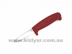 Morakniv 511 Maroon handle Fixed Blade Knife