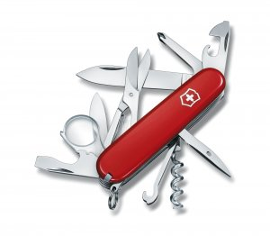 Victorinox Explorer Medium size Pocket knife, Red