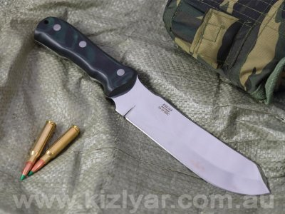 Kizlyar Grillyass M - Large chopper / Heavy duty field knife