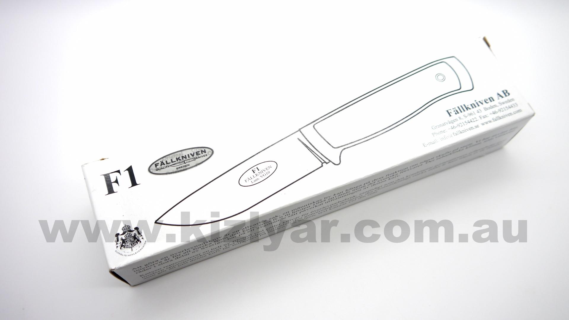 Fallkniven F1z3G Military Fixed Blade Knife - $370 00 Kizlyar Knives