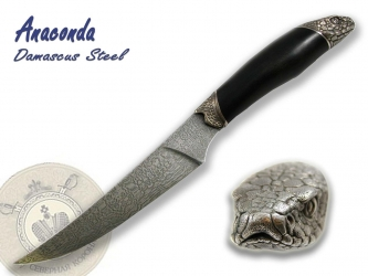 North Crown Knives - Anaconda Damascus Steel