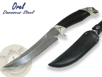 "North Crown Knives - Orel ""Eagle"" Damascus Steel"