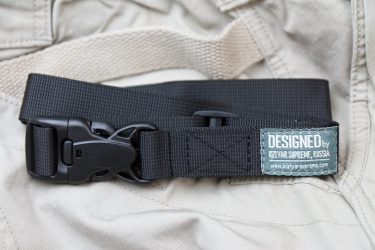 Kizlyar Supreme - MOLLE TB1 Black Thigh Belt