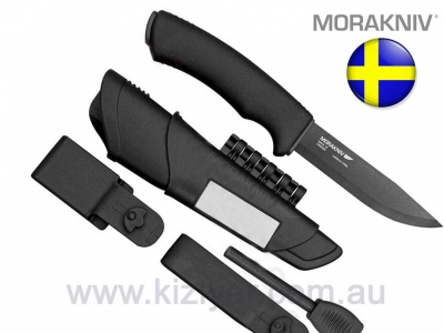 Morakniv Bushcraft Ultimate Survival Black