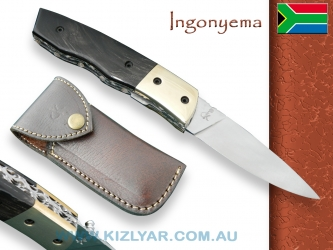 Kappetijn Ingonyema - 440C High Carbon (Water Buffalo Horn)