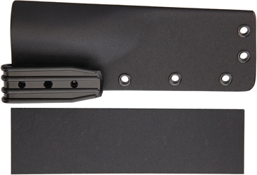 Kydex Sheath Kit (DIY) - Black, Suits 70-100 mm blade knives
