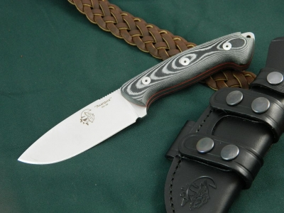 J & V Adventure Knives - Axarquia Micarta, Utility/hunting knife