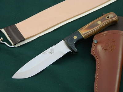J & V Adventure Knives - Puma , Utility / hunting knife, (BRN)