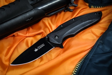 Kizlyar Supreme - Zedd BT AUS8, G10 Handle, liner lock folder