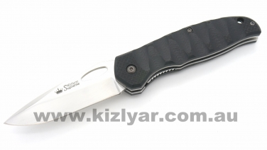 Kizlyar Supreme - Hero 440C Polished, G10 handle