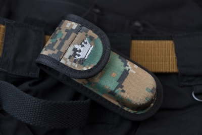 Kizlyar Supreme - AMP2 CAMO, Knife & Multi-tool pouch / MOLLE