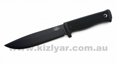 Fallkniven A1bL Fixed Blade Knife Black CeraCoat 8H Blade