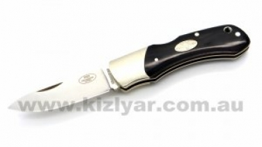 Fallkniven FH9mm Maroon Micarta Lock Back Knife