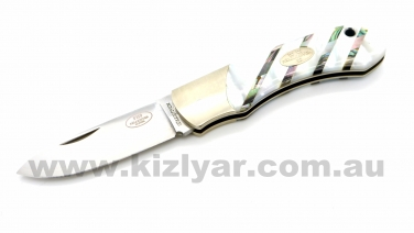 Fallkniven FH9mopp Mother of Pearl Pocket Knife