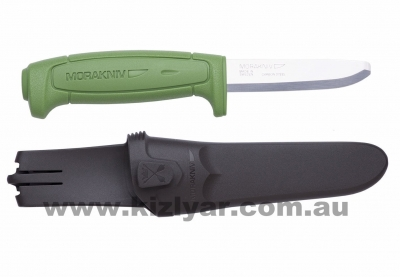 Morakniv Safe Knife 82mm Blade - GREEN