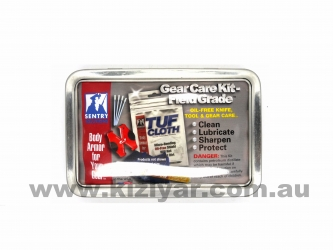 Sentry Gear Care Kit in Tin Case (Field Grade)