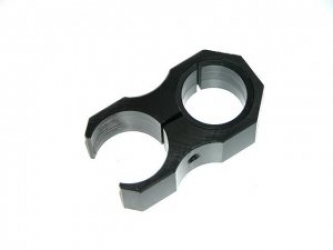 Acetal torch Mount for 30mm Scopes- Made in Australia
