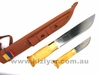 "Knivsmed Stromeng KS+3 Same Knife 8"" + 3.5"" Double Knife"