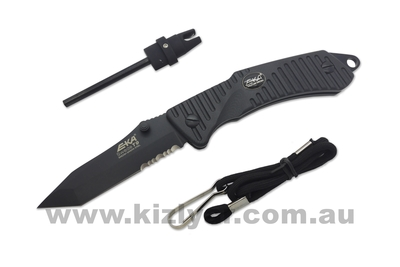 EKA Swede T9 Black Tactical Knife
