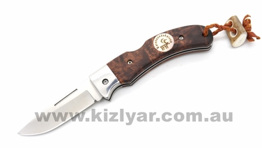 Karesuando 3615 Nallo Folding Knife Brown
