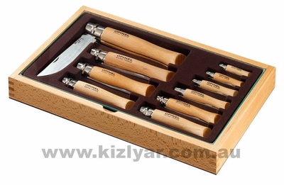 Opinel Change Tray 10 Pc Carbon Steel OP83104