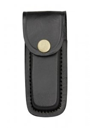"Leather Belt Pouch 4"" - Black PA33224"