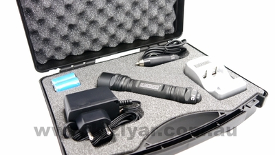 Blackhawk Night-Ops Legacy L6R Black Rechargeable LED Flashlight
