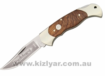 Boker Lockback Knife Rosewood Handle BO2002