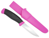 Morakniv Companion Stainless Steel Knife - Magenta