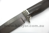 Custom Made Damascus Knife - Warthog