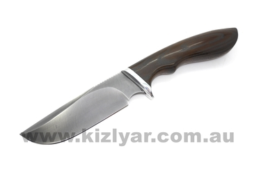 Custom Made Damascus Knife - Skinner