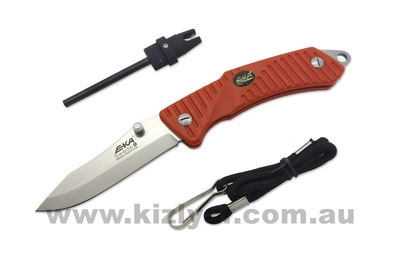 EKA Swede 9 Orange Folding Knife