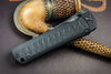Kizlyar Supreme - Whisper, Stone Washed D2, Black G10 handle