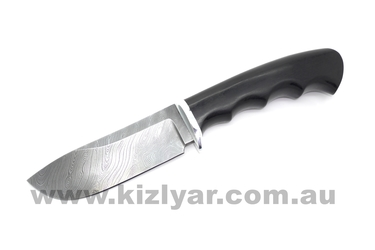 Custom Made Damascus Knife - Skinner Classic