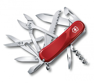Victorinox Evolution S52 Pocket Knife, Red