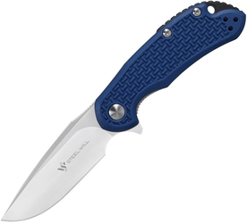 Steel Will Cutjack D2 Blue C22M-1BL