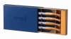 Opinel Chic Box of 4 Table Knives - Olive, 001830