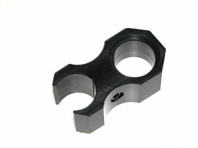 "Acetal torch mount for 1"" Scopes - Made in Australia"