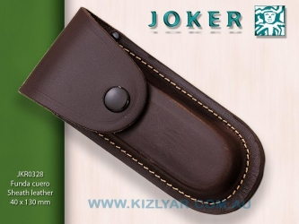 Leather Belt Pouch -130mm, FB05 MADE IN SPAIN